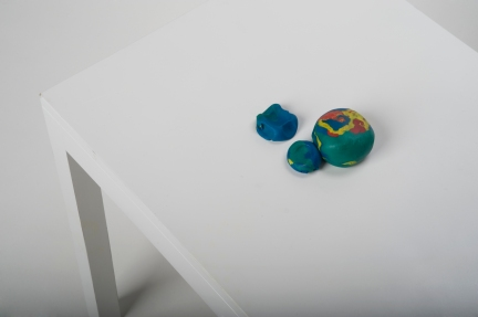 Interactive Table (modeling clay version)